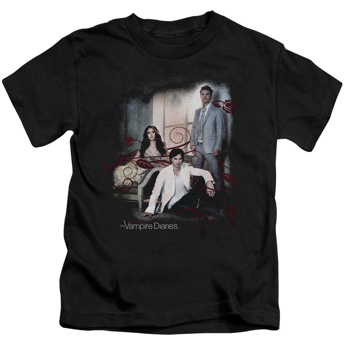 Vampire Diaries - 3 + 1 Short Sleeve Juvenile 18/1 Tee - Special Holiday Gift