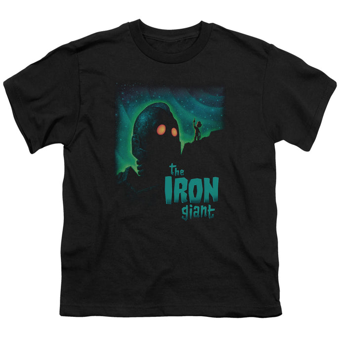 Iron Giant - Look To The Stars Short Sleeve Youth 18/1 Tee - Special Holiday Gift