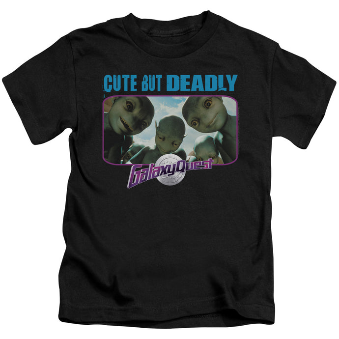 Galaxy Quest - Cute But Deadly Short Sleeve Juvenile 18/1 Tee - Special Holiday Gift