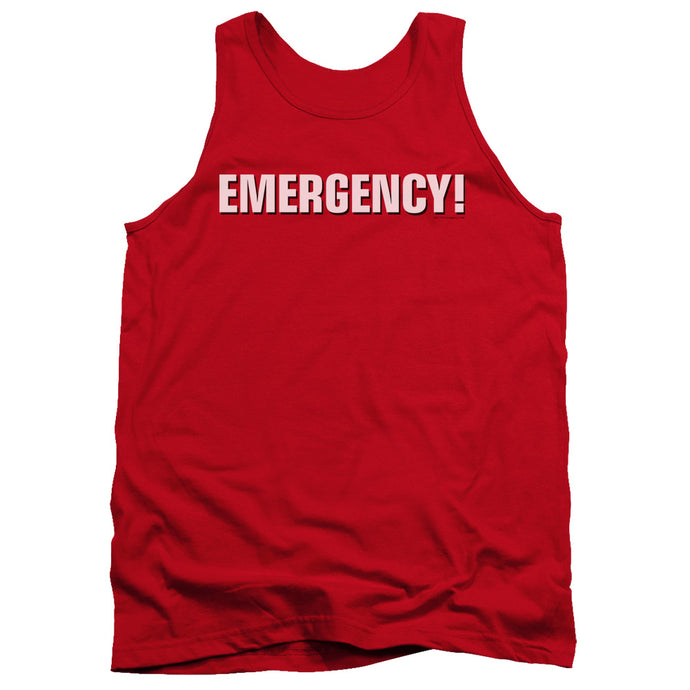 Emergency - Logo Adult Tank - Special Holiday Gift