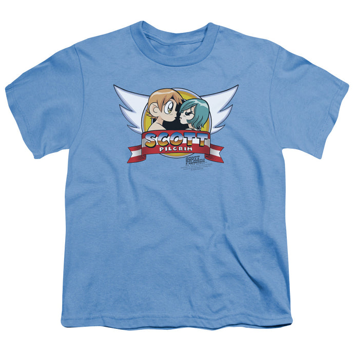 Scott Pilgrim - Sonic Scott Short Sleeve Youth 18/1 Tee - Special Holiday Gift