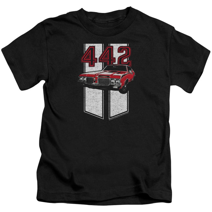 Oldsmobile - 442 Short Sleeve Juvenile 18/1 Tee - Special Holiday Gift