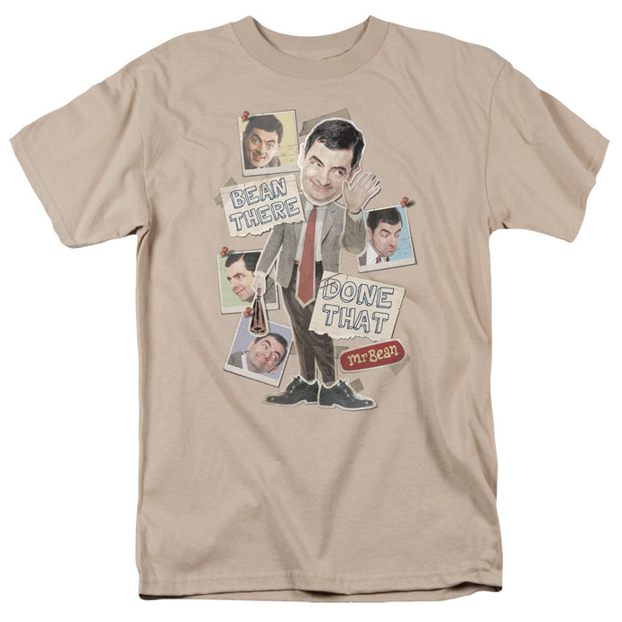 Mr Bean - Bean There Short Sleeve Adult 18/1 Tee - Special Holiday Gift