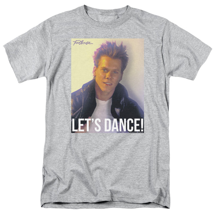 Footloose - Lets Dance Short Sleeve Adult 18/1 Tee - Special Holiday Gift