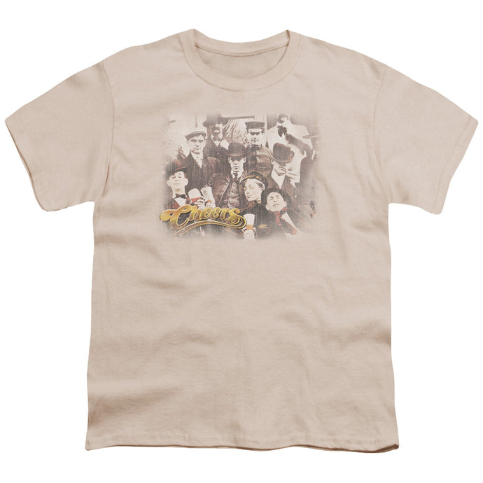 Cheers - Opening Distressed Short Sleeve Youth 18/1 Tee - Special Holiday Gift