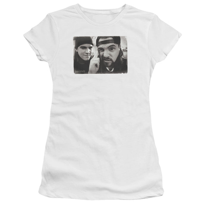 Mallrats - Mind Tricks Short Sleeve Junior Sheer - Special Holiday Gift