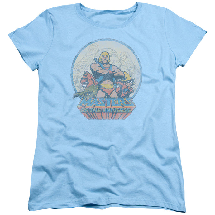 Masters Of The Universe - He Man And Crew Short Sleeve Women's Tee - Special Holiday Gift
