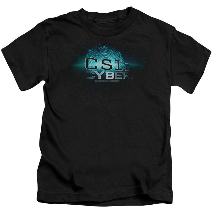 Csi: Cyber - Thumb Print Short Sleeve Juvenile 18/1 Tee - Special Holiday Gift