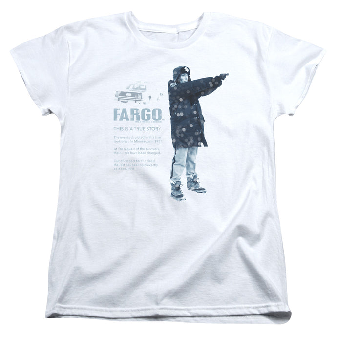 Fargo - This Is A True Story Short Sleeve Women's Tee - Special Holiday Gift