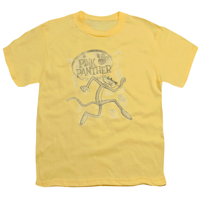Pink Panther - Catch Me Short Sleeve Youth 18/1 Tee - Special Holiday Gift