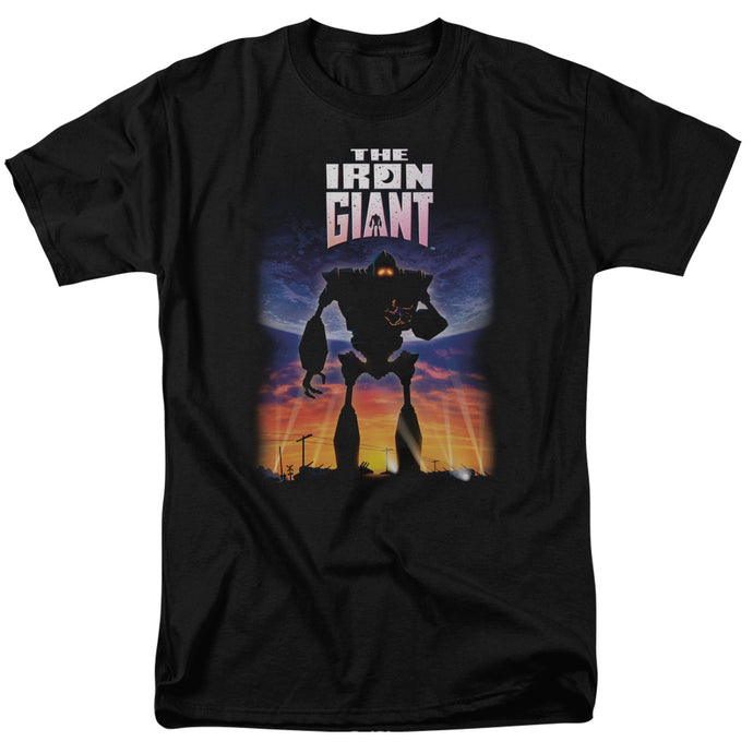 Iron Giant - Poster Short Sleeve Adult 18/1 Tee - Special Holiday Gift