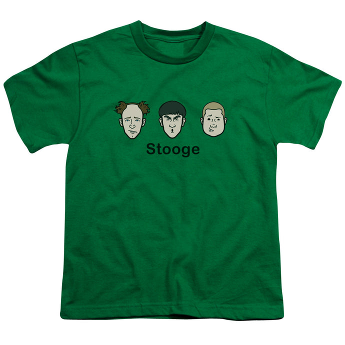 Three Stooges - Stooge Short Sleeve Youth 18/1 Tee - Special Holiday Gift