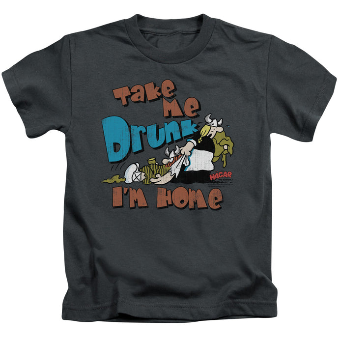 Hagar The Horrible - Take Me Home Short Sleeve Juvenile 18/1 Tee - Special Holiday Gift