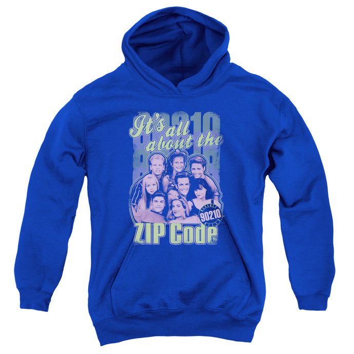 90210 - Zip Code Youth Pull Over Hoodie - Special Holiday Gift