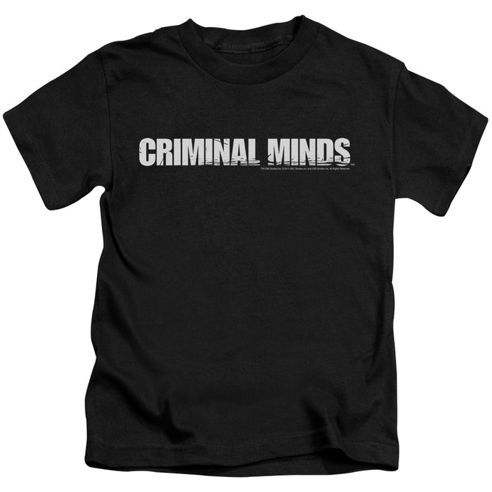 Criminal Minds - Logo Short Sleeve Juvenile 18/1 Tee - Special Holiday Gift