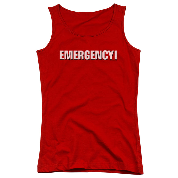 Emergency - Logo Juniors Tank Top - Special Holiday Gift