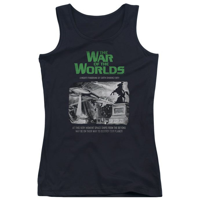 War Of The Worlds - Attack People Poster Juniors Tank Top - Special Holiday Gift