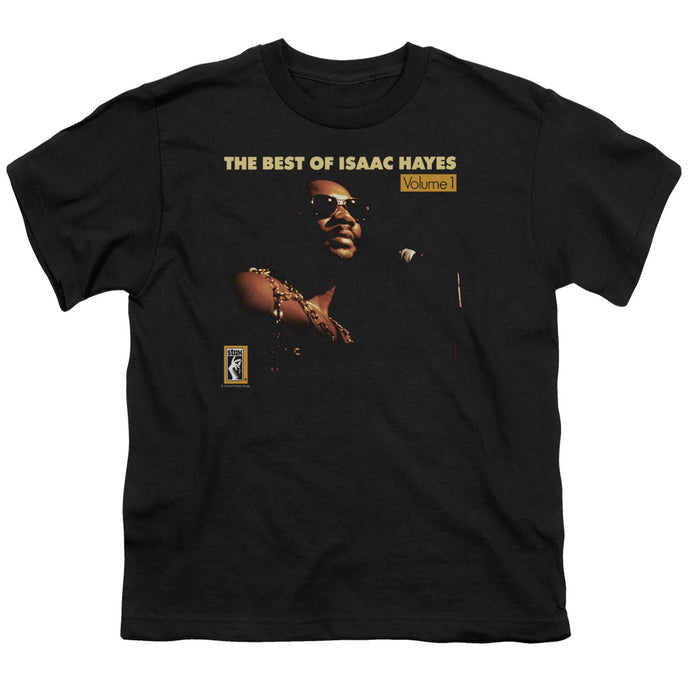 Isaac Hayes - Chain Vest Short Sleeve Youth 18/1 Tee - Special Holiday Gift