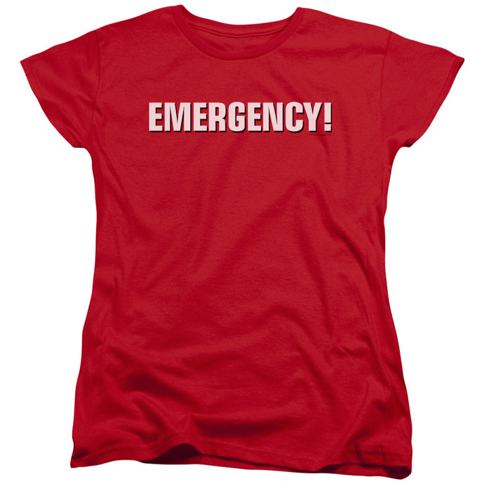 Emergency - Logo Short Sleeve Women's Tee - Special Holiday Gift