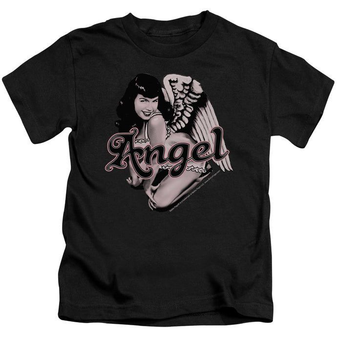 Bettie Page - Bettie Angel Short Sleeve Juvenile 18/1 Tee - Special Holiday Gift