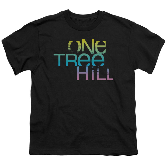 One Tree Hill - Color Blend Logo Short Sleeve Youth 18/1 Tee - Special Holiday Gift