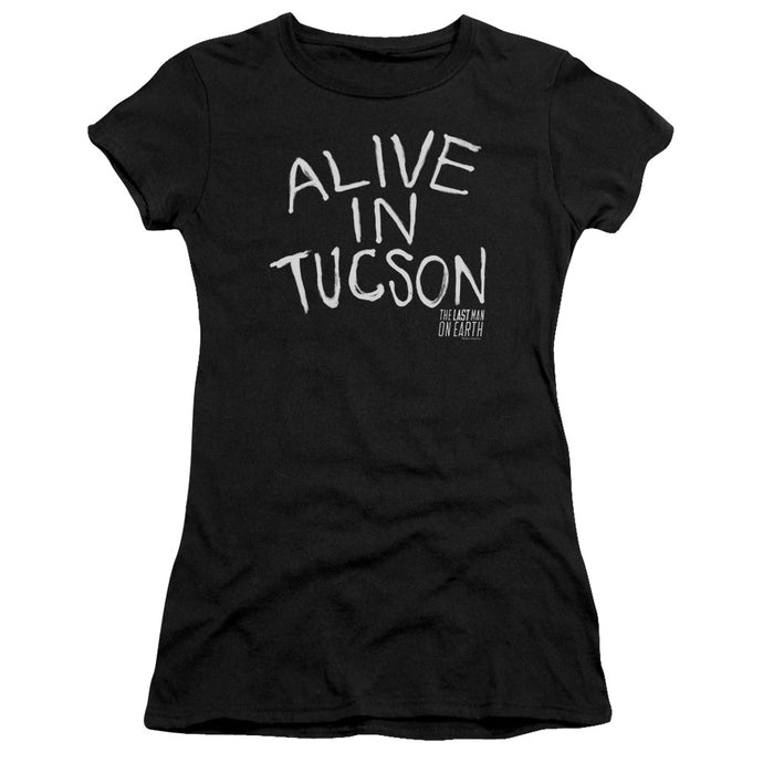 Last Man On Earth - Alive In Tucson Short Sleeve Junior Sheer - Special Holiday Gift