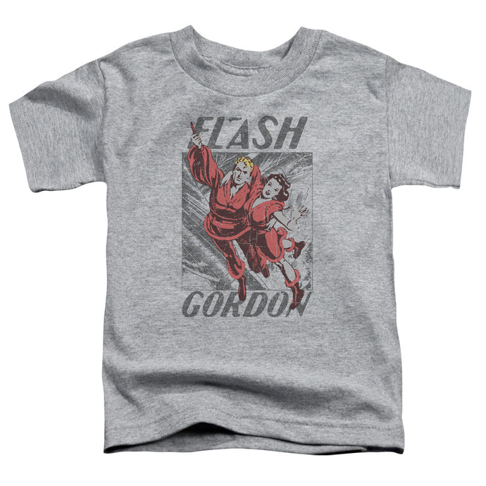 Flash Gordon - To The Rescue Short Sleeve Toddler Tee - Special Holiday Gift