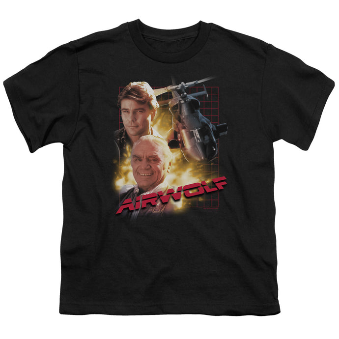 Airwolf - Airwolf Short Sleeve Youth 18/1 Tee - Special Holiday Gift