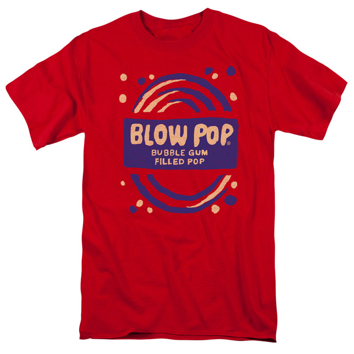 Tootsie Roll - Blow Pop Rough Short Sleeve Adult 18/1 Tee - Special Holiday Gift