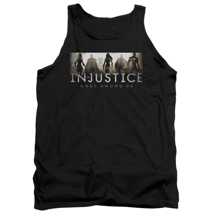 Injustice Gods Among Us - Logo Adult Tank - Special Holiday Gift