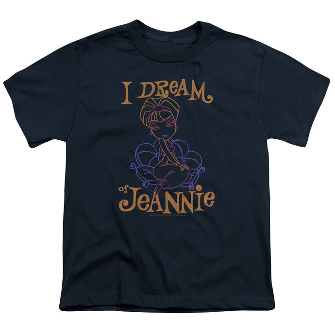 I Dream Of Jeannie - Jeannie Paint Short Sleeve Youth 18/1 Tee - Special Holiday Gift