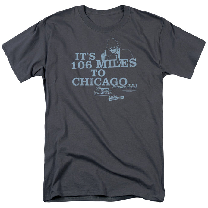 Blues Brothers - Chicago Short Sleeve Adult 18/1 Tee - Special Holiday Gift