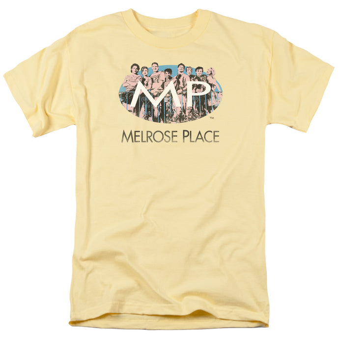 Melrose Place - Meet At The Place Short Sleeve Adult 18/1 Tee - Special Holiday Gift