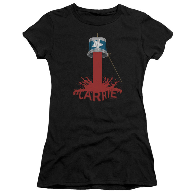 Carrie - Bucket Of Blood Short Sleeve Junior Sheer - Special Holiday Gift
