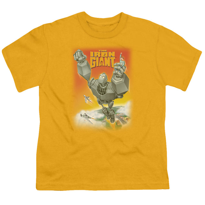 Iron Giant - Fly Away Short Sleeve Youth 18/1 Tee - Special Holiday Gift