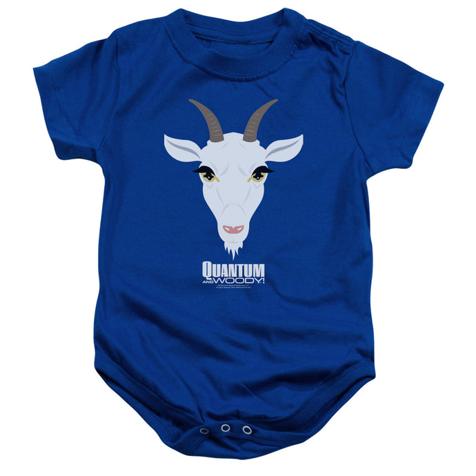 Quantum And Woody - Goat Head Infant Snapsuit - Special Holiday Gift