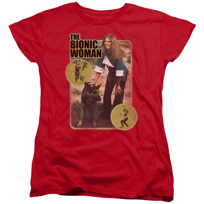 Bionic Woman - Jamie And Max Short Sleeve Women's Tee - Special Holiday Gift