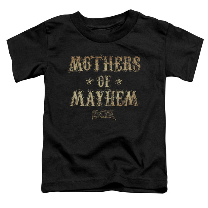 Sons Of Anarchy - Mothers Of Mayhem Short Sleeve Toddler Tee - Special Holiday Gift
