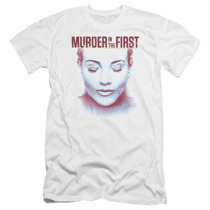 Murder In The First - Don't Talk Premium Canvas Adult Slim Fit 30/1 - Special Holiday Gift