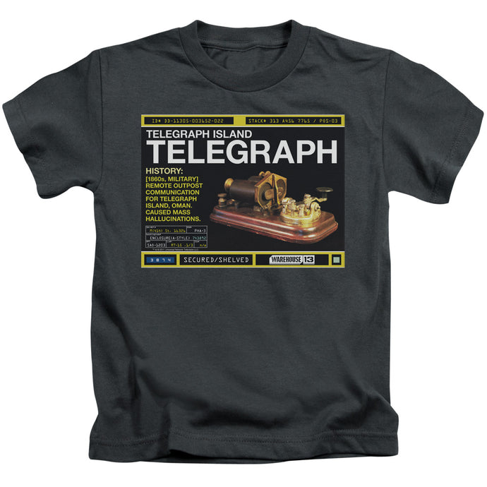 Warehouse 13 - Telegraph Island Short Sleeve Juvenile 18/1 Tee - Special Holiday Gift