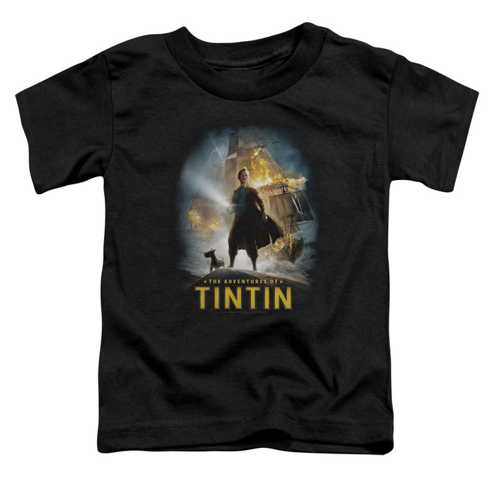 Tintin - Poster Short Sleeve Toddler Tee - Special Holiday Gift