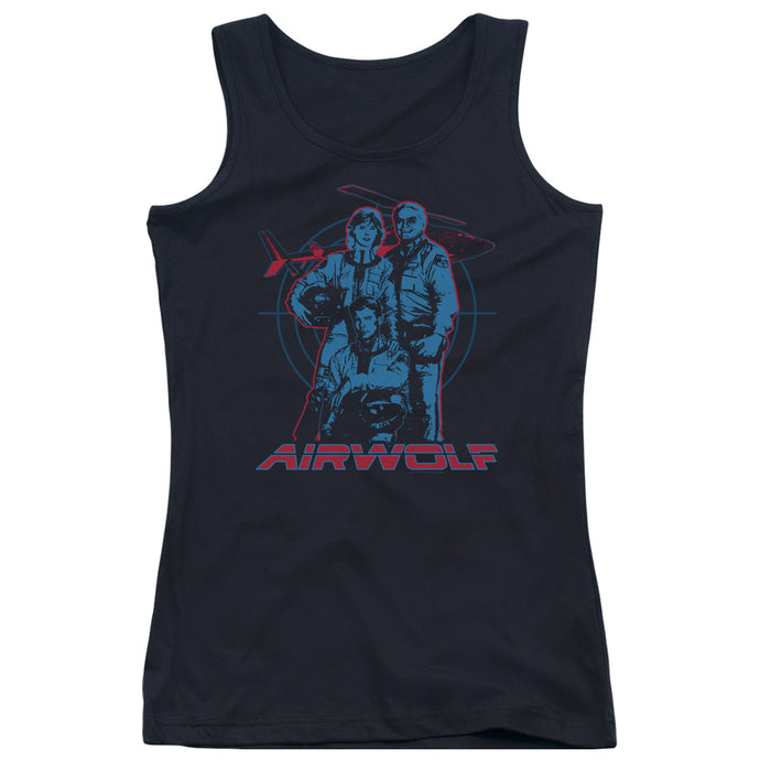 Airwolf - Graphic Juniors Tank Top - Special Holiday Gift