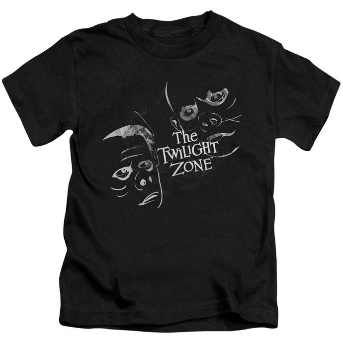 Twilight Zone - Strange Faces Short Sleeve Juvenile 18/1 Tee - Special Holiday Gift