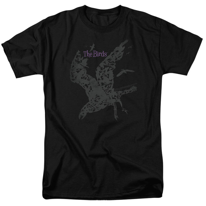 Birds - Poster Short Sleeve Adult 18/1 Tee - Special Holiday Gift