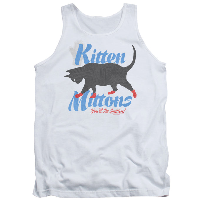 Its Always Sunny In Philadelphia - Kitten Mittons Adult Tank - Special Holiday Gift