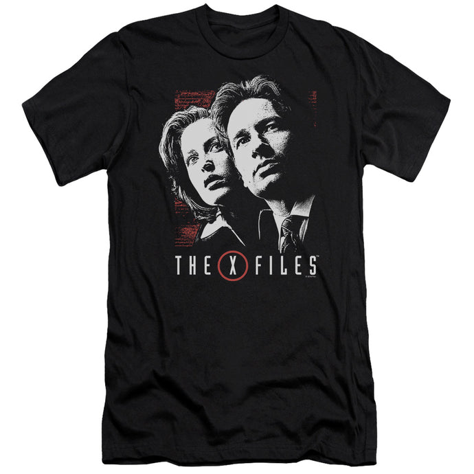 X Files - Mulder & Scully Short Sleeve Adult 30/1 Tee - Special Holiday Gift