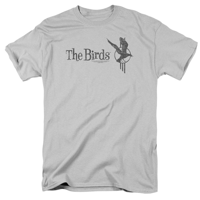 Birds - Distressed Short Sleeve Adult 18/1 Tee - Special Holiday Gift