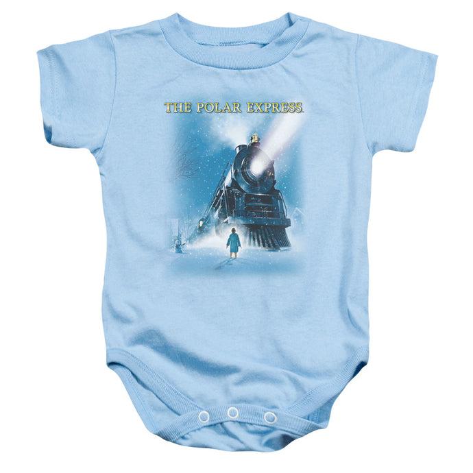 Polar Express - Big Train Infant Snapsuit - Special Holiday Gift