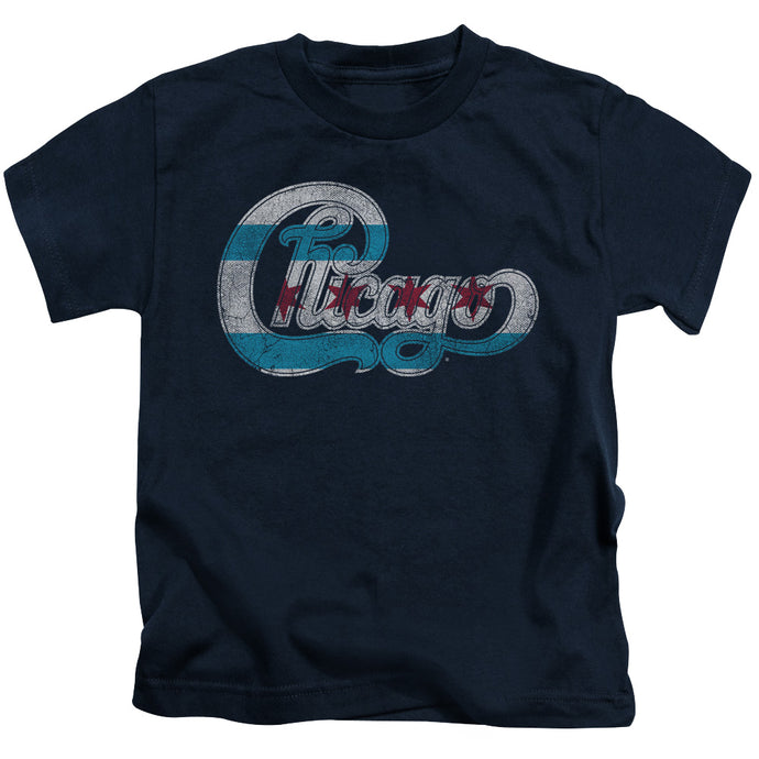 Chicago - Flag Logo Short Sleeve Juvenile 18/1 Tee - Special Holiday Gift