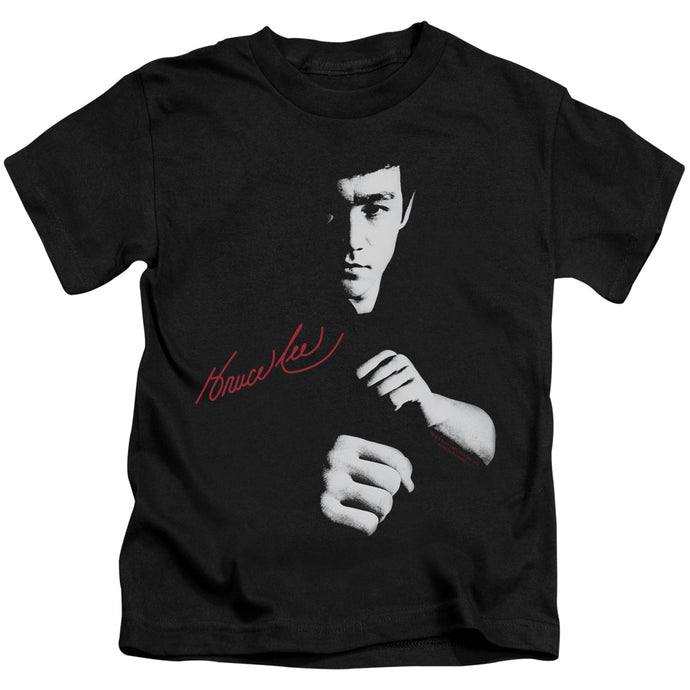 Bruce Lee - The Dragon Awaits Short Sleeve Juvenile 18/1 Tee - Special Holiday Gift